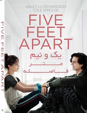 دانلود فیلم یک و نیم متر فاصله 2019 Five Feet Apart دوبله فارسی
