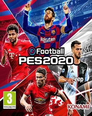 بازی فوتبال pes 2020
