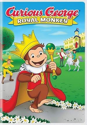 دانلود انیمیشن Curious George: Royal Monkey 2019
