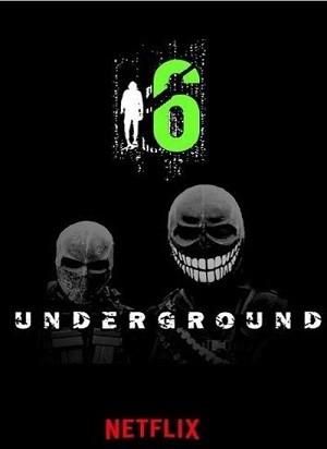 دانلود فیلم شش آندرگراند 2019 6 Underground