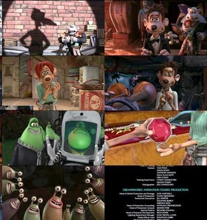 دانلود انیمیشن بر آب رفتگان 2006 Flushed Away
