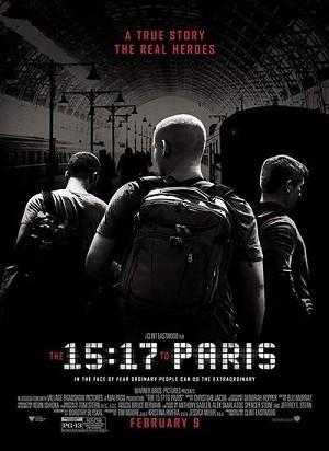 دانلود فیلم قطار 2018 The 15:17 to Paris
