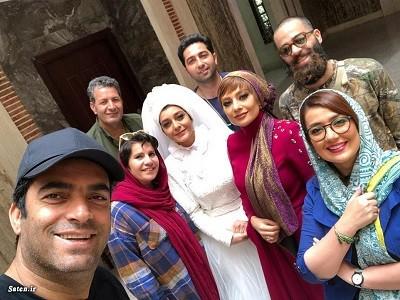 تصویری از منوچهر هادی و یکتا ناصر
