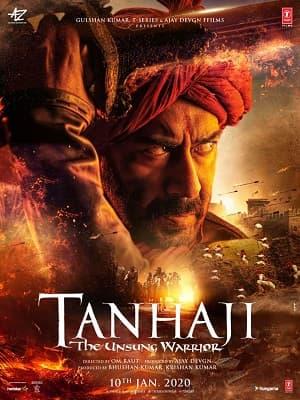 دانلود فیلم Tanhaji The Unsung Warrior 2020