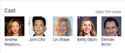 بازیگران فیلم The Grudge 2020