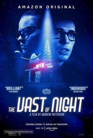 دانلود فیلم The Vast of Night 2020 گستره شب